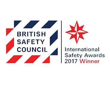 British Safety Council Award 2017