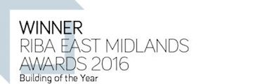 Winner RIBA East Midlands Award 2016 - Building of the Year