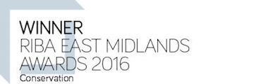 Winner RIBA East Midlands Award 2016 - Building of the Year Conservation
