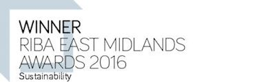Winner RIBA East Midlands Award 2016 - Sustainability