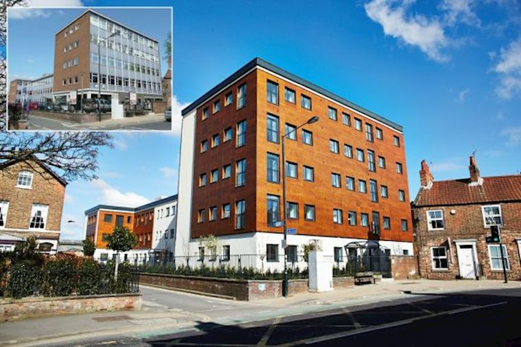 Work completed at £7 million York City Centre Development