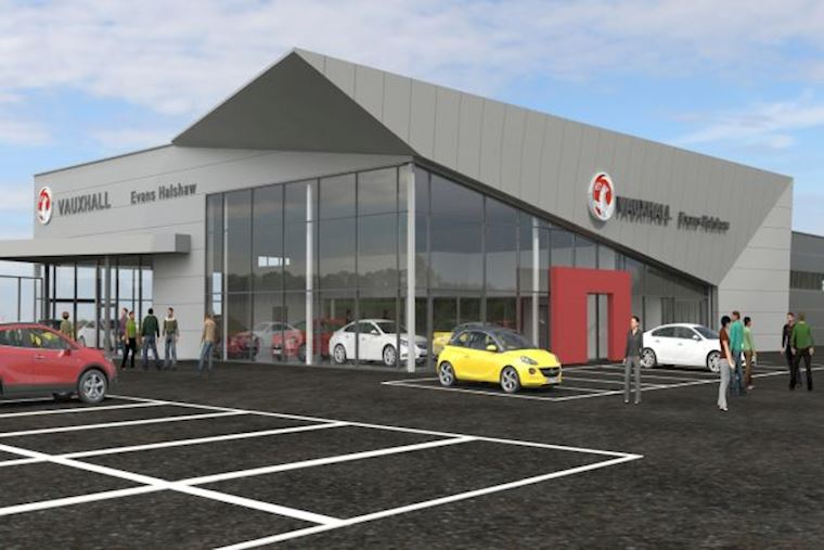 Caddick Construction awarded new car dealership contract