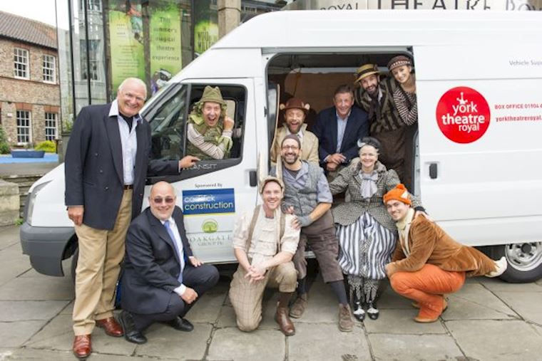 Caddick Construction and Oakgate Group PLC donate van to York Theatre Royal