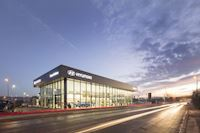 Caddick completes new Hyundai dealership project