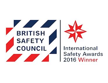 British Safety Council Award 2016