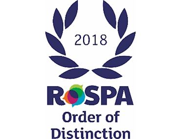 RoSPA Order of Distinction 2018
