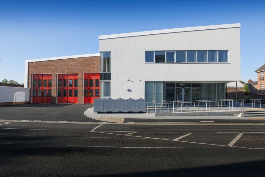 Caddick Construction Complete York Fire Station