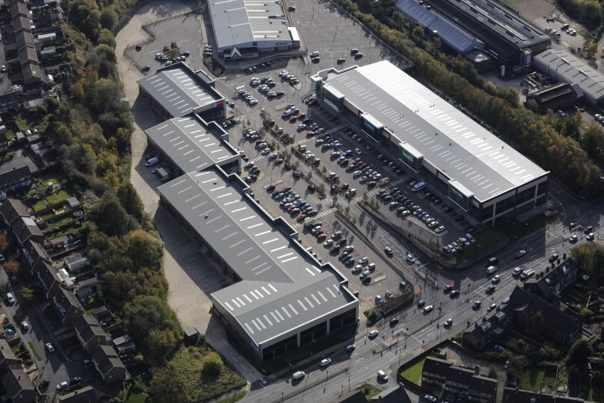 Retail Park completed after multi-million pound investment