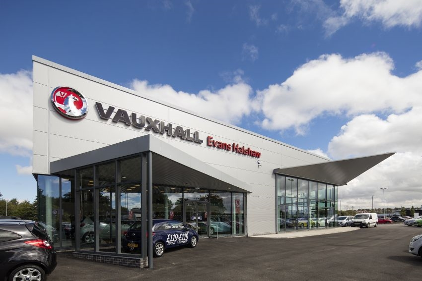 Caddick Construction announces completion of eco-friendly car dealership