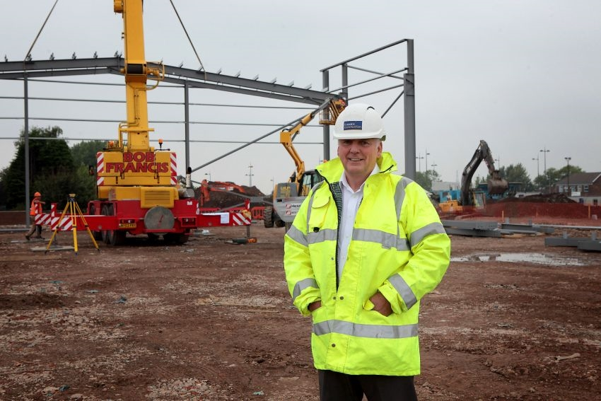 Liverpool Shopping Park 'comes out of the ground'
