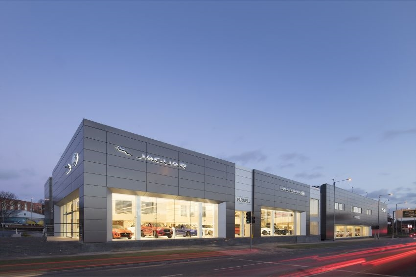 Caddick Construction drives home luxury car showroom