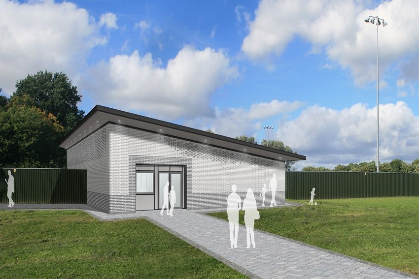 Caddick begin work on Runcorn changing pavilion