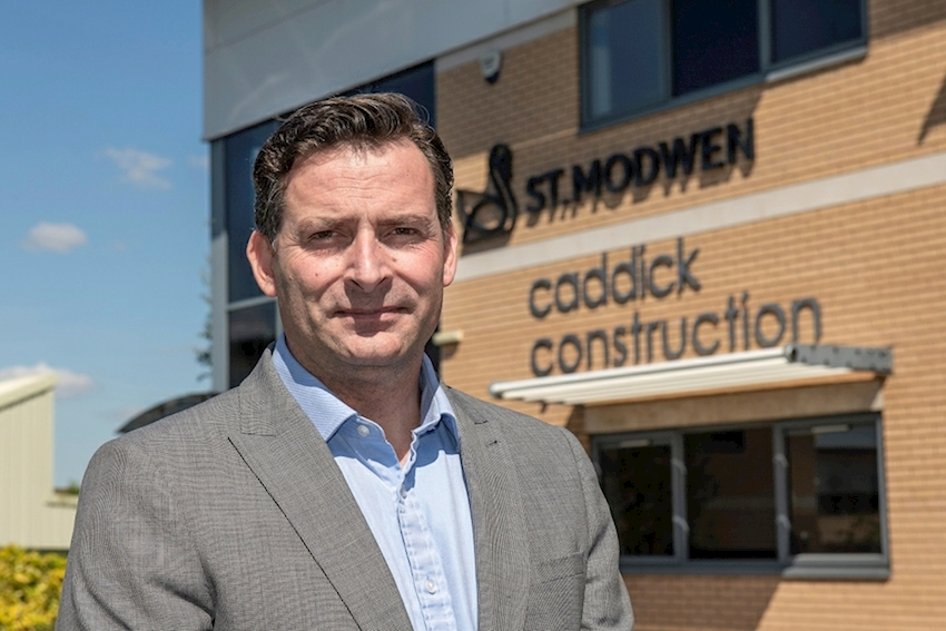 Caddick Construction takes first steps in setting up new North West Civil Engineering Division