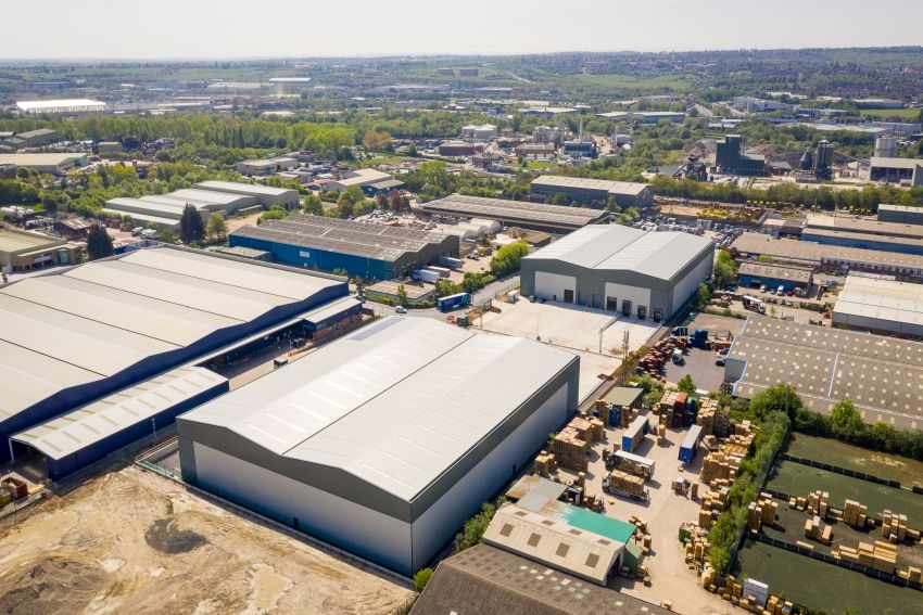 Caddick complete phase one of the new industrial units in Leeds