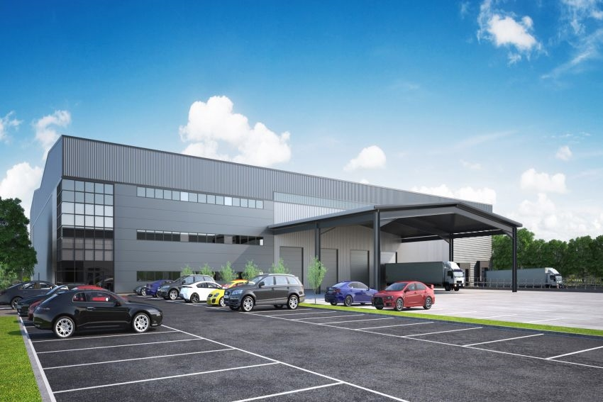 Towngate sticks with Caddick for £3 million third industrial unit