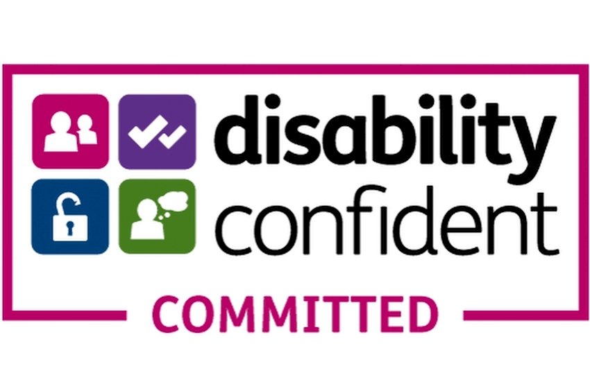 Caddick commits to Disability Confident