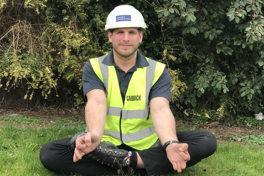 Caddick Construction lays foundations for building a healthy and happy workforce