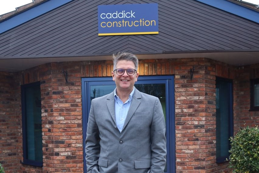 Caddick Construction moves into the residential sector