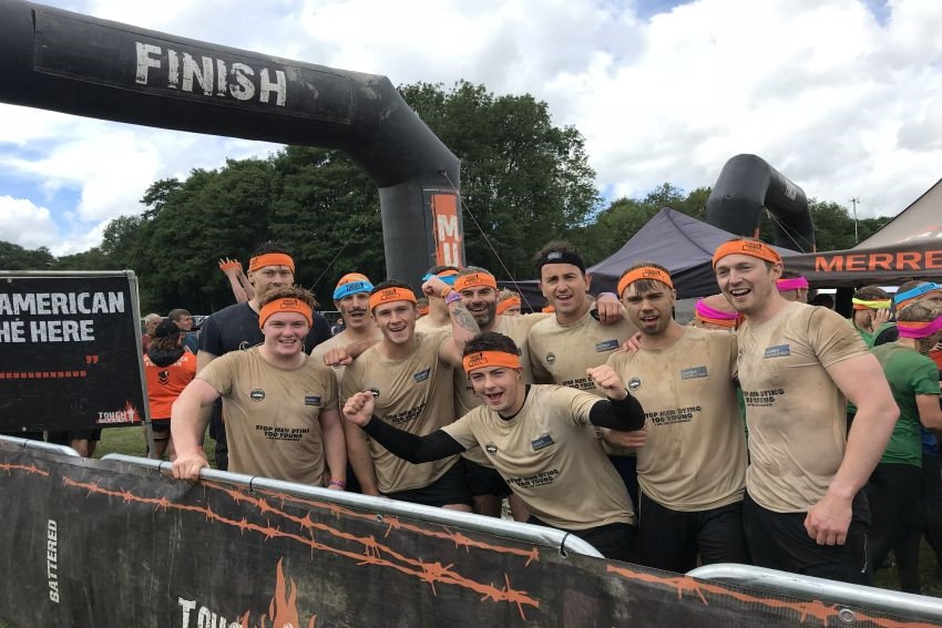 Caddick Construction are tough mudders