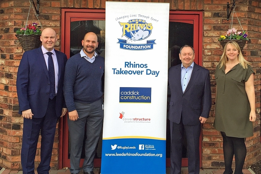 Leeds Rhinos Foundation launches local school 'takeovers'