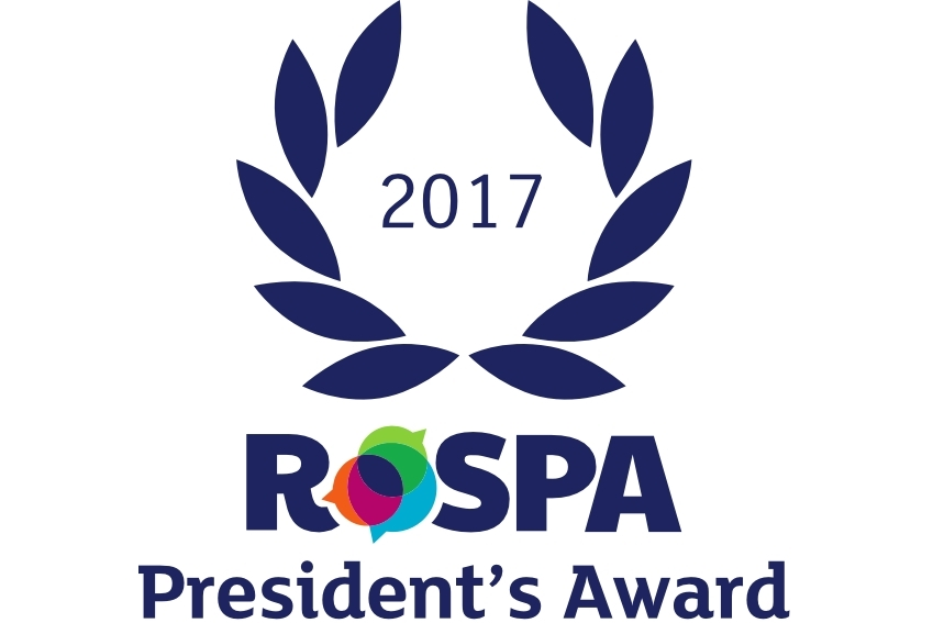 Caddick honoured again at RoSPA Safety Awards