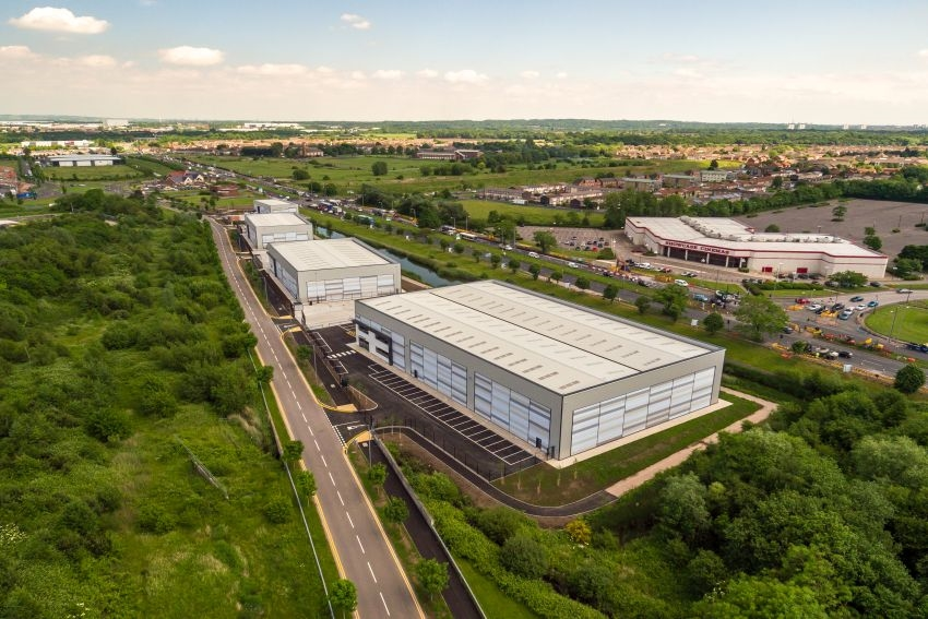 Caddick Construction completes multi-million pound business park