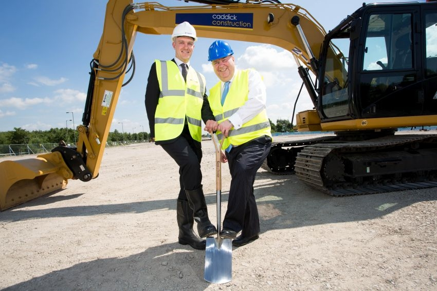 Caddick start on site industrial space at Stonebridge Business Park, Liverpool