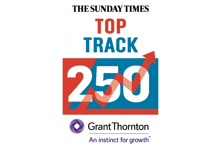 Caddick Construction named on The Sunday Times Top Track 250 List
