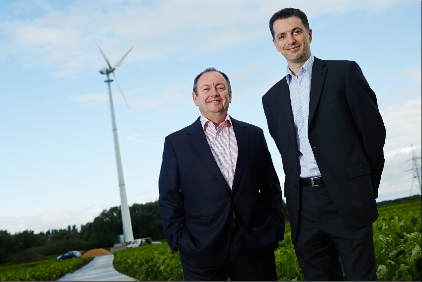 Wetherby developers Caddick take first steps into green energy with Knottingley wind turbine