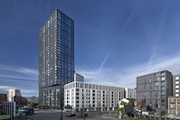 Caddick Construction completes landmark £154m Moda Angel Gardens, Manchester