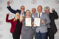 A double take for Caddick at national Considerate Constructors' Scheme Awards
