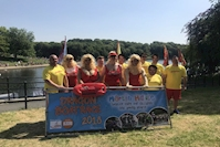 Caddick team raises money for Martin's House Children's Hospice at Leeds Dragon Boat Race