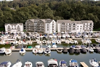 Building structures complete at Windermere Marina development