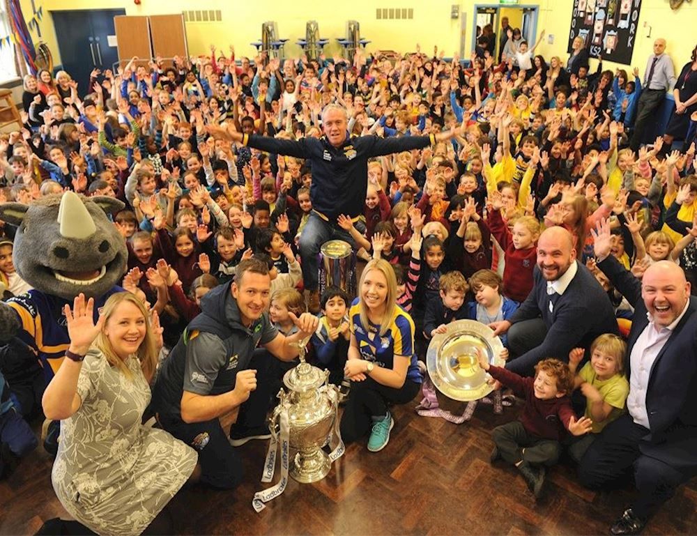 Leeds Rugby Foundation Take Over Day