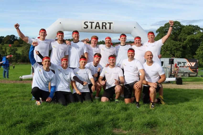 Yorkshire Warrior Supporting St Gemma's Hospice