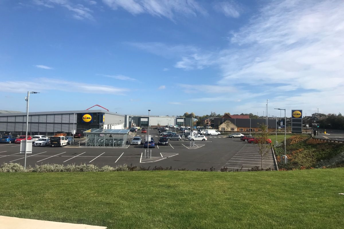 Lidl, East Side Retail Park, Leeds