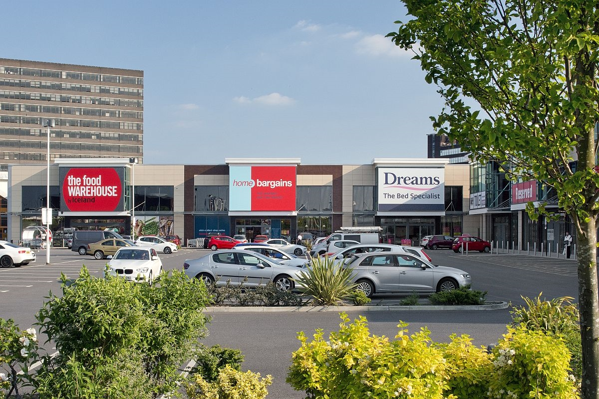 White City Retail Park, Manchester