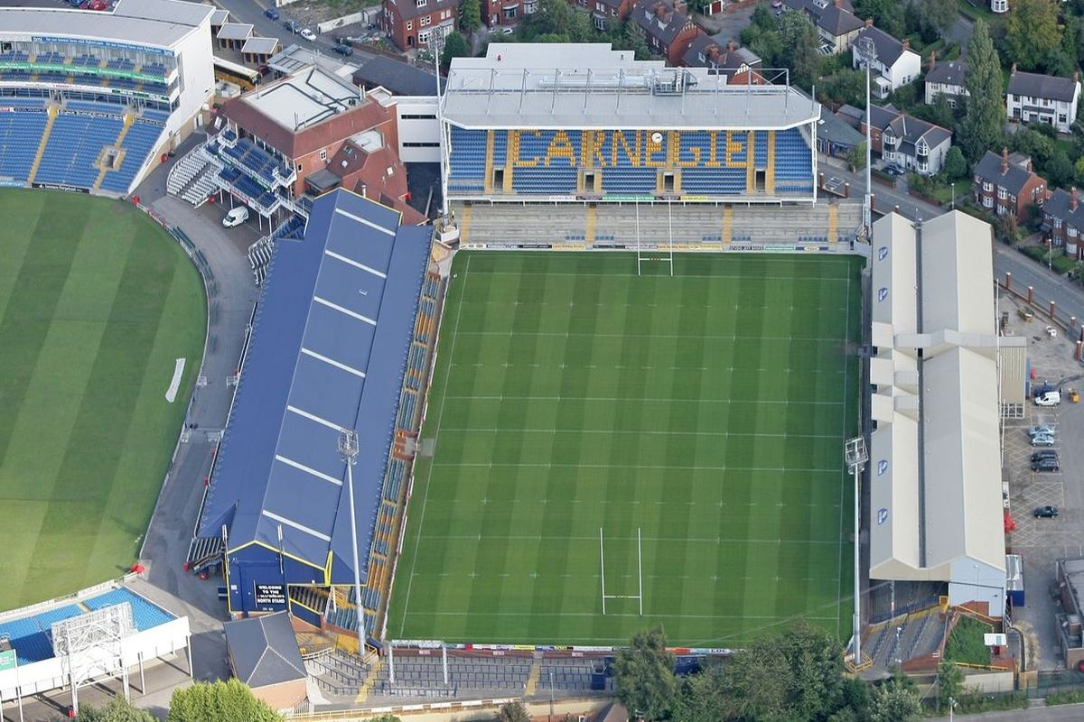 Headingley Stadium Rugby Pitch
