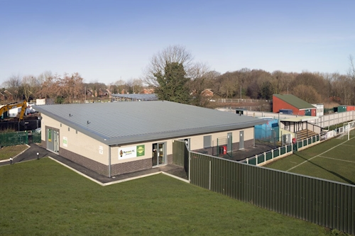 Halton Sports Changing Pavilion, Runcorn