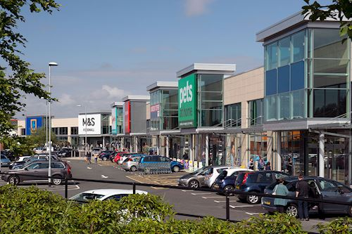 Junction ONE Retail Park, Bidston Moss