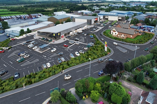 East Side Retail Park, Leeds